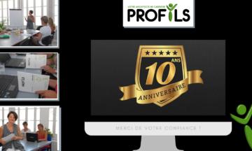 PROFILS fête ses 10 ans